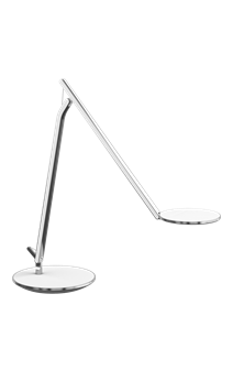 Infinity Task Light, Desktop Base, Linen White