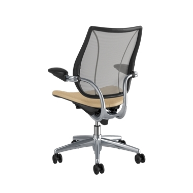 <p><span>Frame:</span> Polished Aluminum With Black Trim</p><p>Adjustable Duron Arms</p>  <p><span>Backrest:</span> Pinstripe/Silver</p>  <p><span>Seat:</span> Ticino (Chrome-Free Leather)/Sand-Vanilla</p> Picture 3