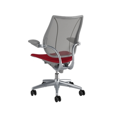 <p><span>Frame:</span> Polished Aluminum With Silver Trim</p><p>Adjustable Duron Arms</p>  <p><span>Backrest:</span> Pinstripe/Graphite</p>  <p><span>Seat:</span> Oxygen/Liberty</p> Picture 3