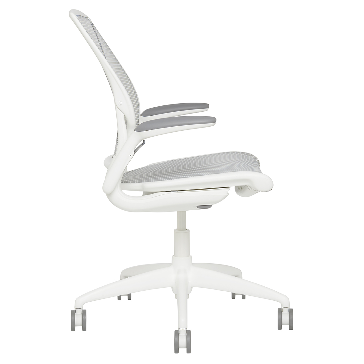 Diffrient Mesh Task Chair Side View