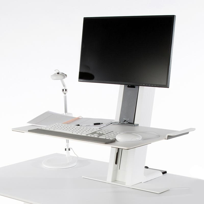 Sit Stand Amp Adjustable Workstation Quickstand Humanscale