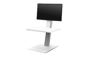 <p>Single Monitor</p>  <p><span>Colour:</span> White</p>