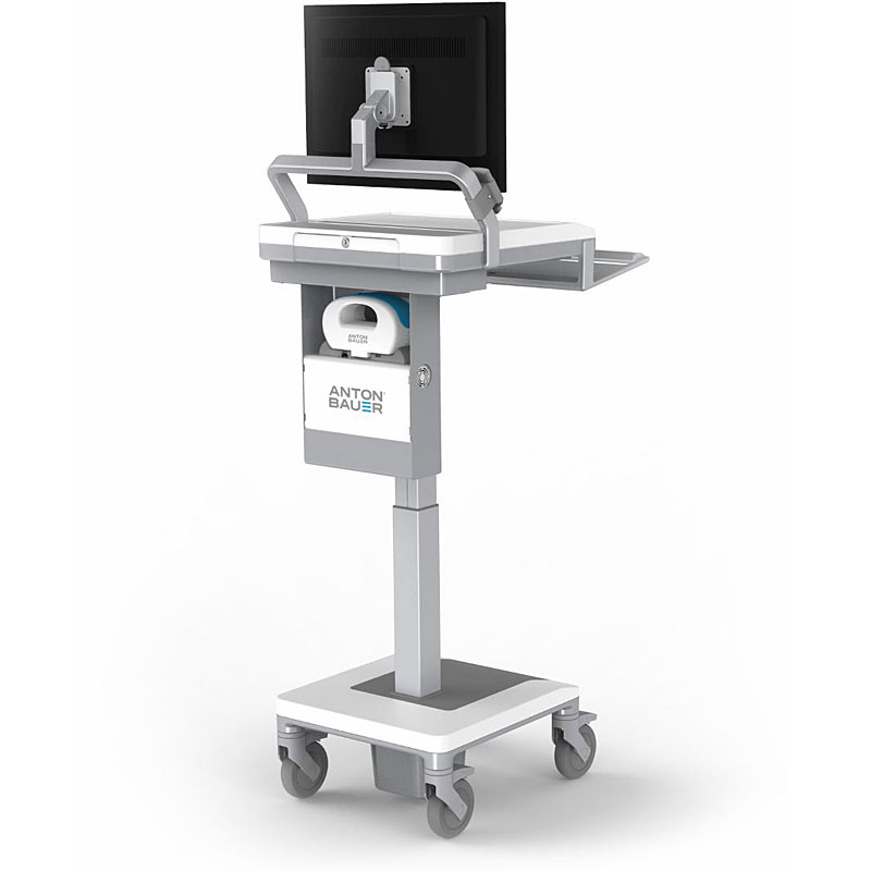 Humanscale's T7 TouchPoint Mobile Technology Cart